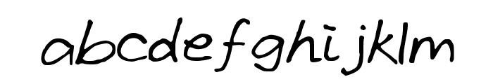 GrundlegendeByCindyyo Font LOWERCASE