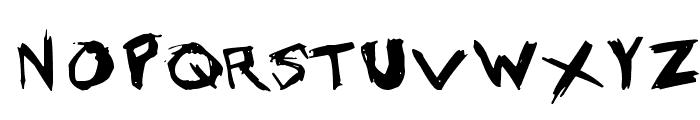Grundy Font UPPERCASE