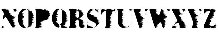 Grunge Bold Font UPPERCASE