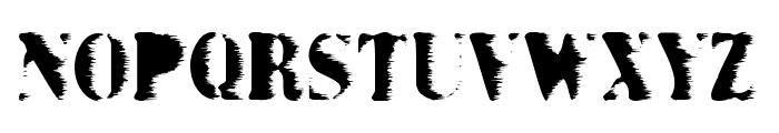 Grunge Bold Font LOWERCASE