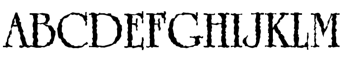 Grunge Caltek Bold Font UPPERCASE