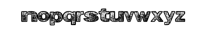 GrungeKids Font LOWERCASE