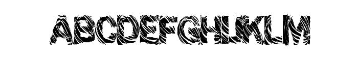 GrungeShack Font UPPERCASE