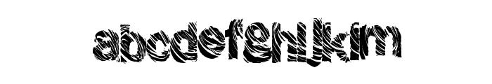 GrungeShack Font LOWERCASE