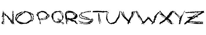 Grungy StyleRegular Font UPPERCASE