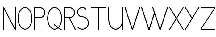 GrutchGrotesk Condensed Light Font UPPERCASE