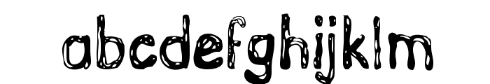 GrutchHanded Font LOWERCASE