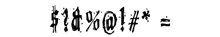 Grymmoire Font OTHER CHARS