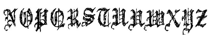 Grymmoire Font UPPERCASE