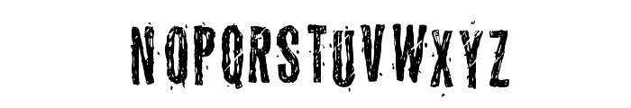 Grymmoire Font LOWERCASE