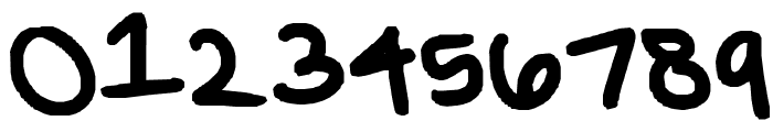 grace's font Font OTHER CHARS