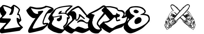 graffonti 3ddrop Font OTHER CHARS