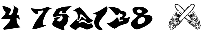 graffonti v351  atomicbomb Font OTHER CHARS