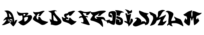 graffonti v351  atomicbomb Font LOWERCASE