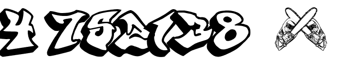 graffonti.3d.drop Font OTHER CHARS