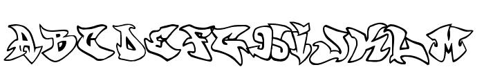 graffonti.atomic.bomb Font UPPERCASE