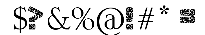 greek to me Font OTHER CHARS