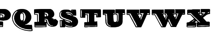 groovy font Font UPPERCASE
