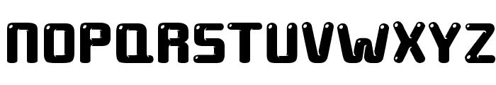 ground round Font LOWERCASE