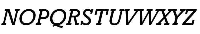 Granite Oblique Font UPPERCASE