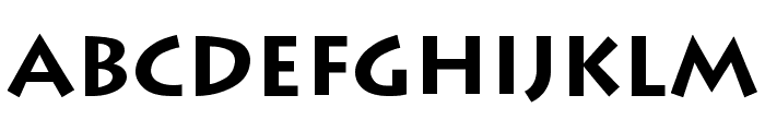 Greco Bold Font LOWERCASE