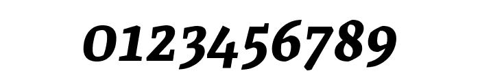 Grenze SemiBoldItalic Font OTHER CHARS