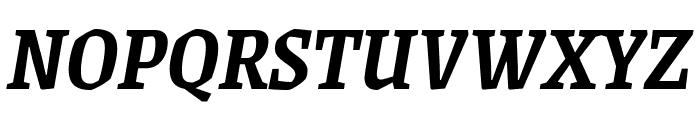Grenze SemiBoldItalic Font UPPERCASE