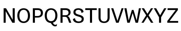 Gresa Regular Font UPPERCASE
