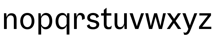 Gresa Regular Font LOWERCASE