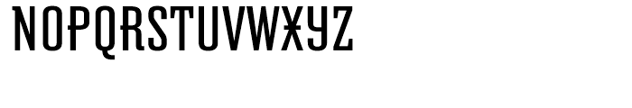 Graficz Normal Font UPPERCASE