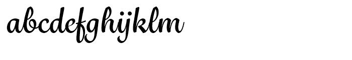 Grafolita Script Bold Font LOWERCASE