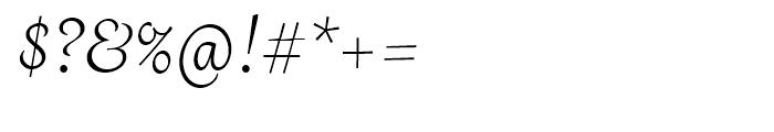 Grafolita Script Regular Font OTHER CHARS
