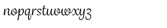 Grafolita Script Regular Font LOWERCASE