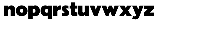 Granby Elephant Font LOWERCASE