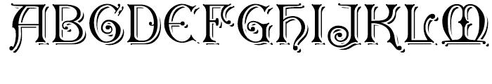 Granville Grand Font UPPERCASE