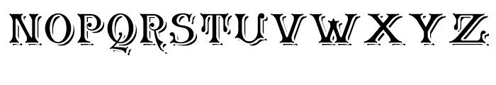 Granville Grand Font LOWERCASE