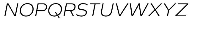 Graphie Light Italic Font UPPERCASE
