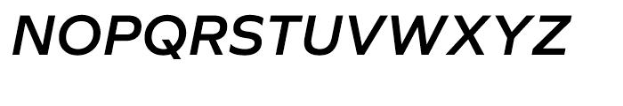 Graphie SemiBold Italic Font UPPERCASE