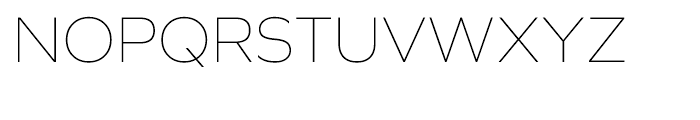 Graphie Thin Font UPPERCASE