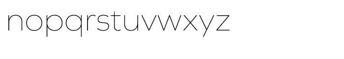 Graphie Thin Font LOWERCASE