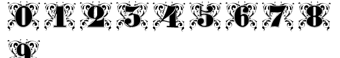 Gras Vibert Decorative Font OTHER CHARS