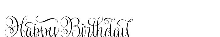 Gratitude Script Words Font LOWERCASE