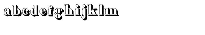 Grave Plus Complete Regular Font LOWERCASE