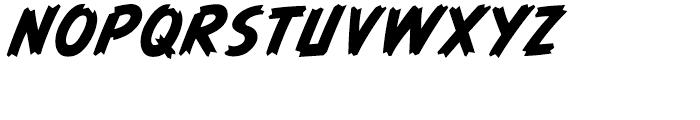 Graveyard Smash Body Italic Font UPPERCASE