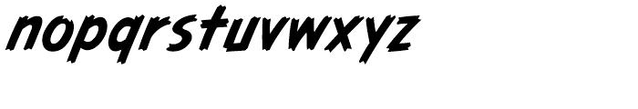 Graveyard Smash Body Italic Font LOWERCASE
