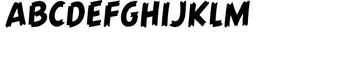 Graveyard Smash Body Regular Font UPPERCASE