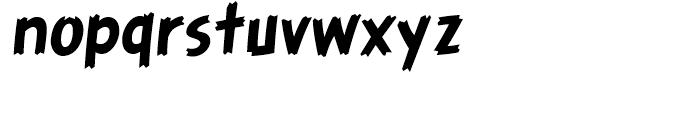 Graveyard Smash Body Regular Font LOWERCASE