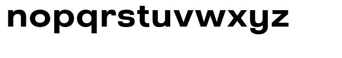 Grayfel Ext Bold Font LOWERCASE