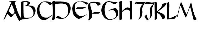 Graz Regular Font UPPERCASE