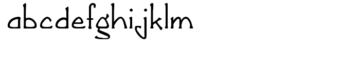 Greeting Monotone Regular Font LOWERCASE